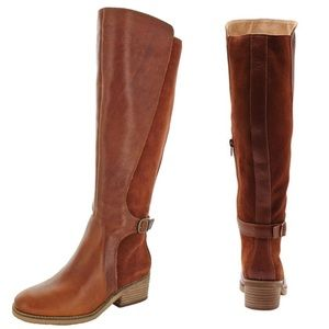 """Lucky Brand """"Timinii"""" Tall Boots In Whiskey"""